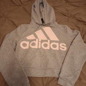 Adidas Crop Top Hoodie 💕